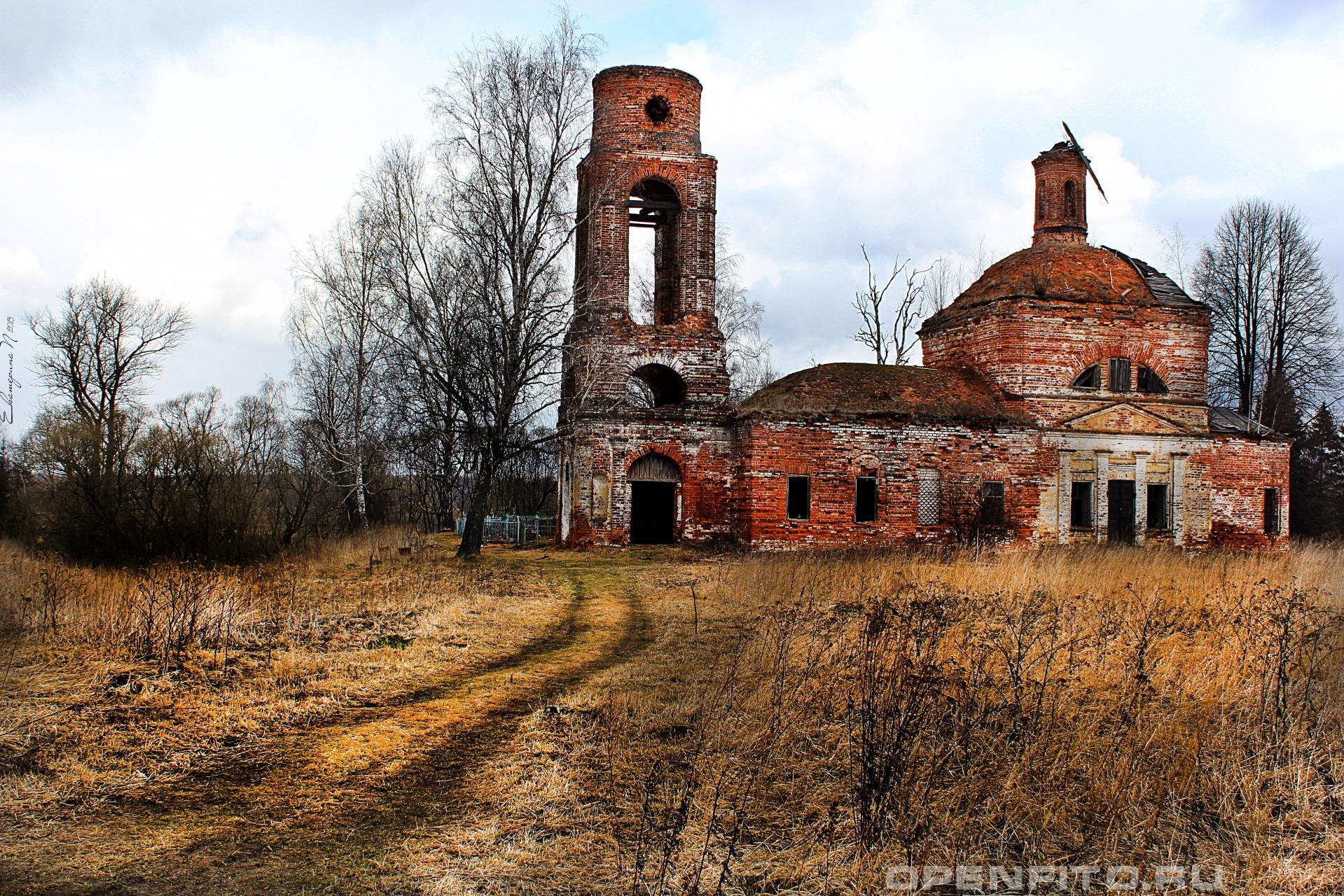Церковь Воскресения Христова Ивановская область, Комсомольскии район, с. Афанасьево