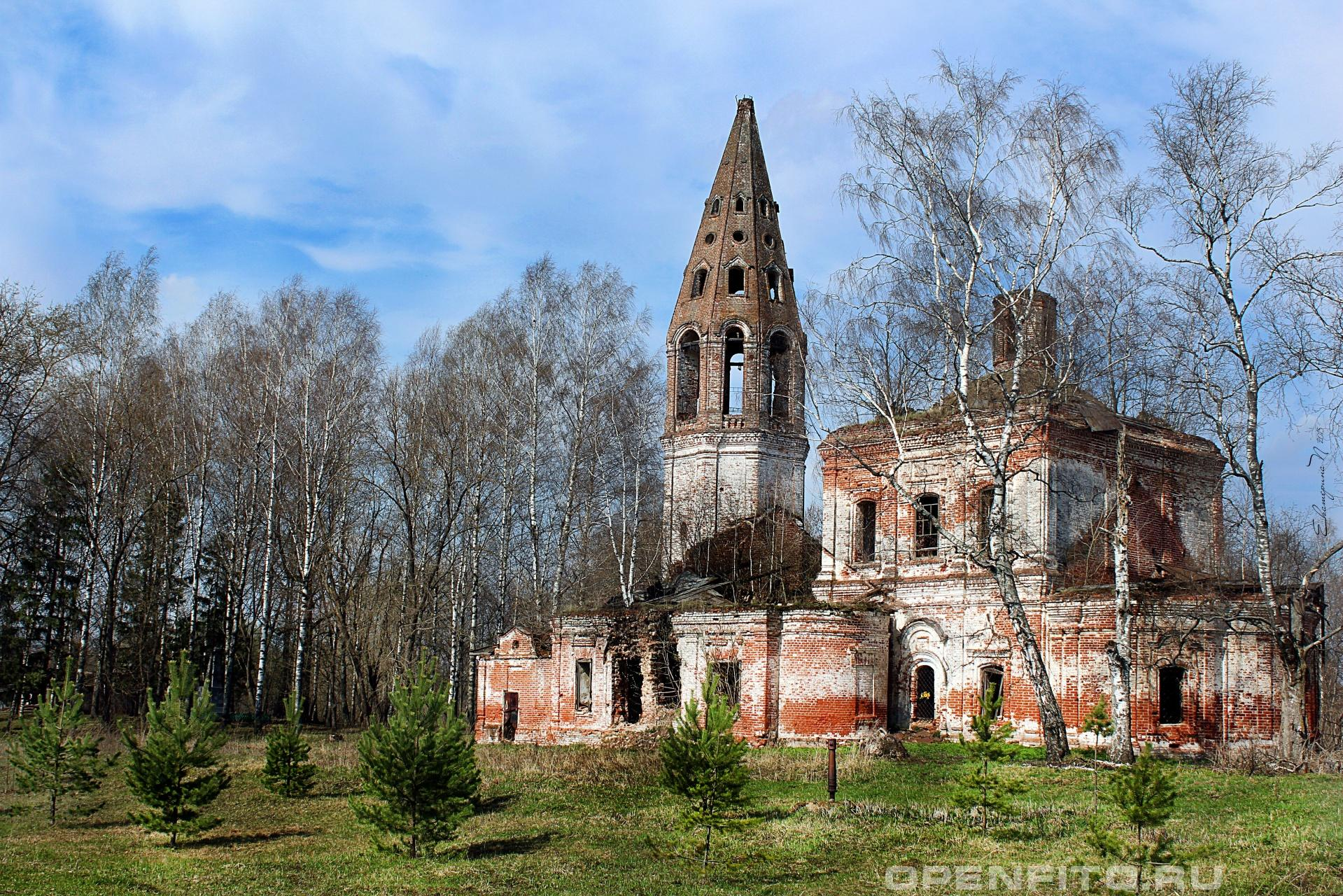 Церковь Николая Чудотворца Ивановская область, село Тюгаево