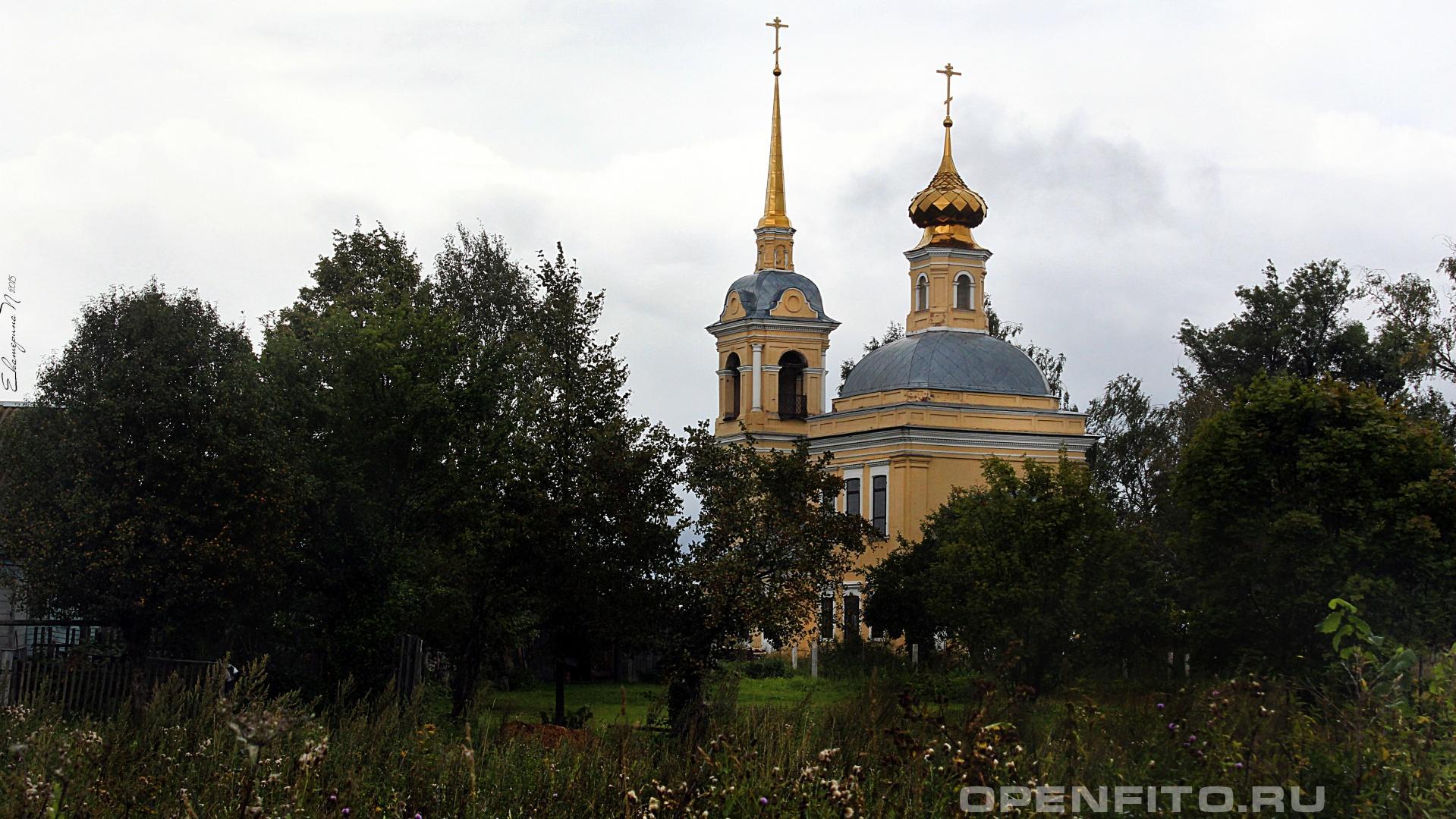 Казанская церковь Казанская церковь в селе Сараево Ивановской области