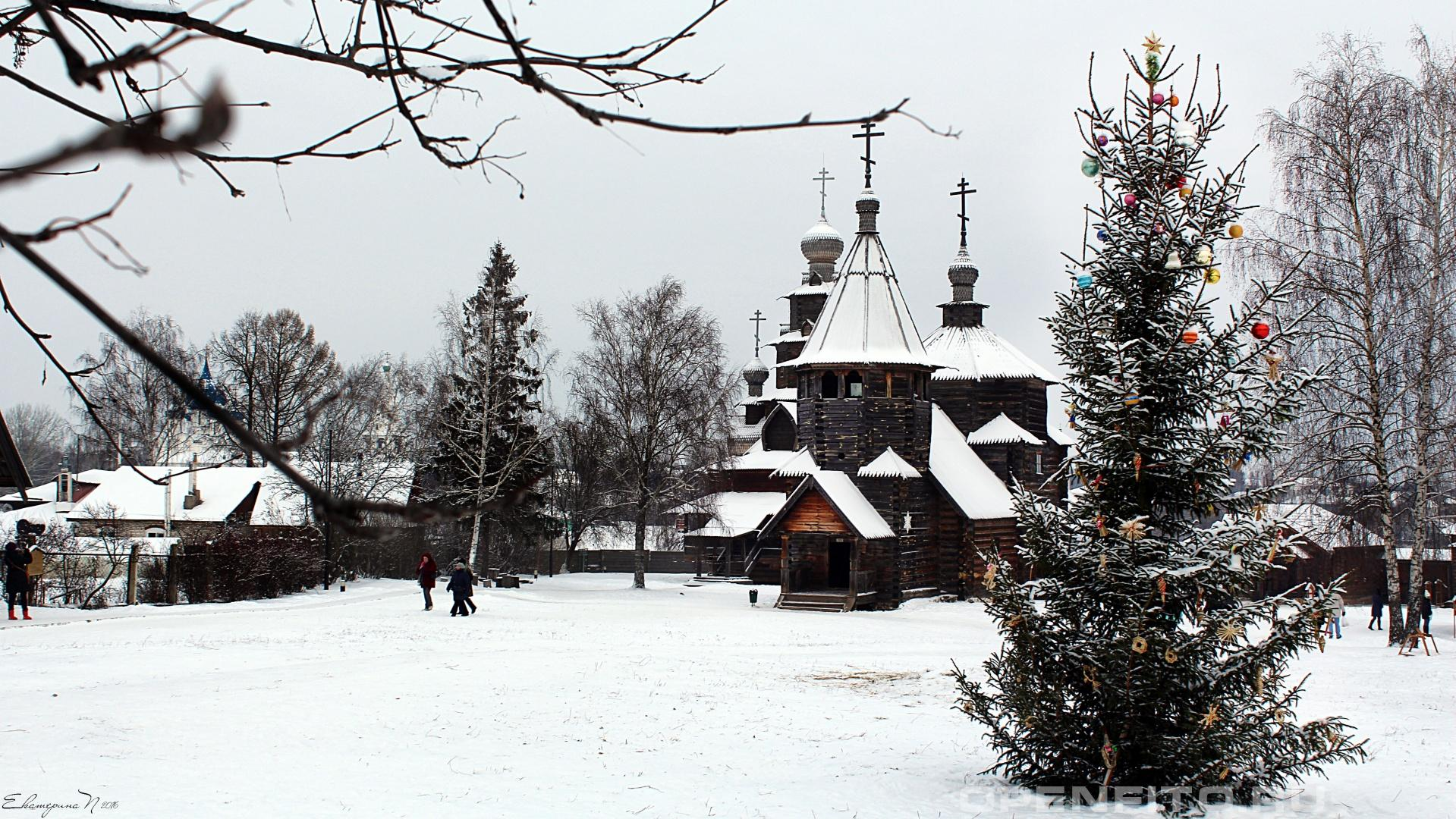 Музей Музей деревянного зодчества в городе Суздаль, Владимирская область
