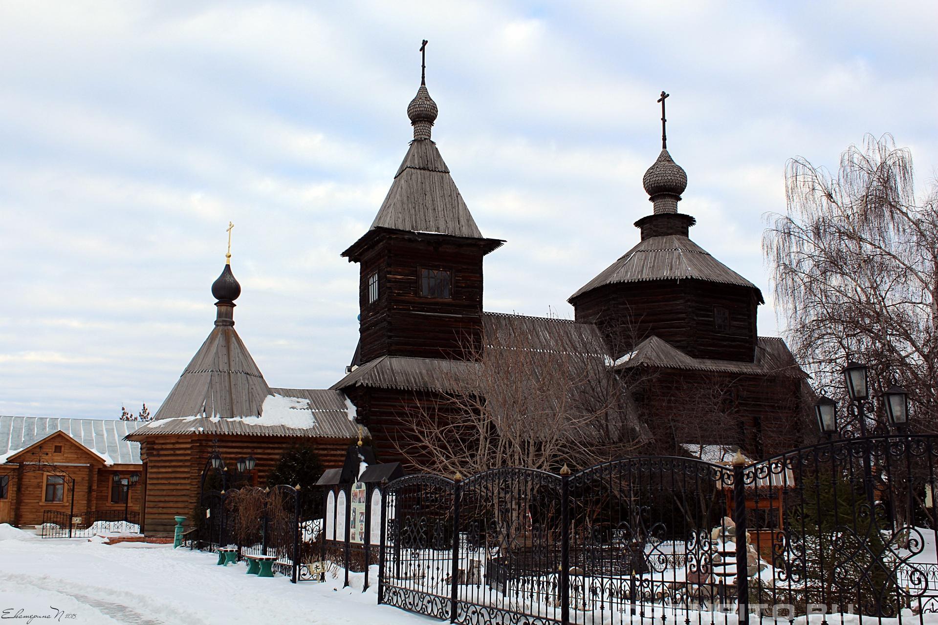 Свято-Троицкий монастырь Свято-Троицкий монастырь, город Муром, Владимирская область