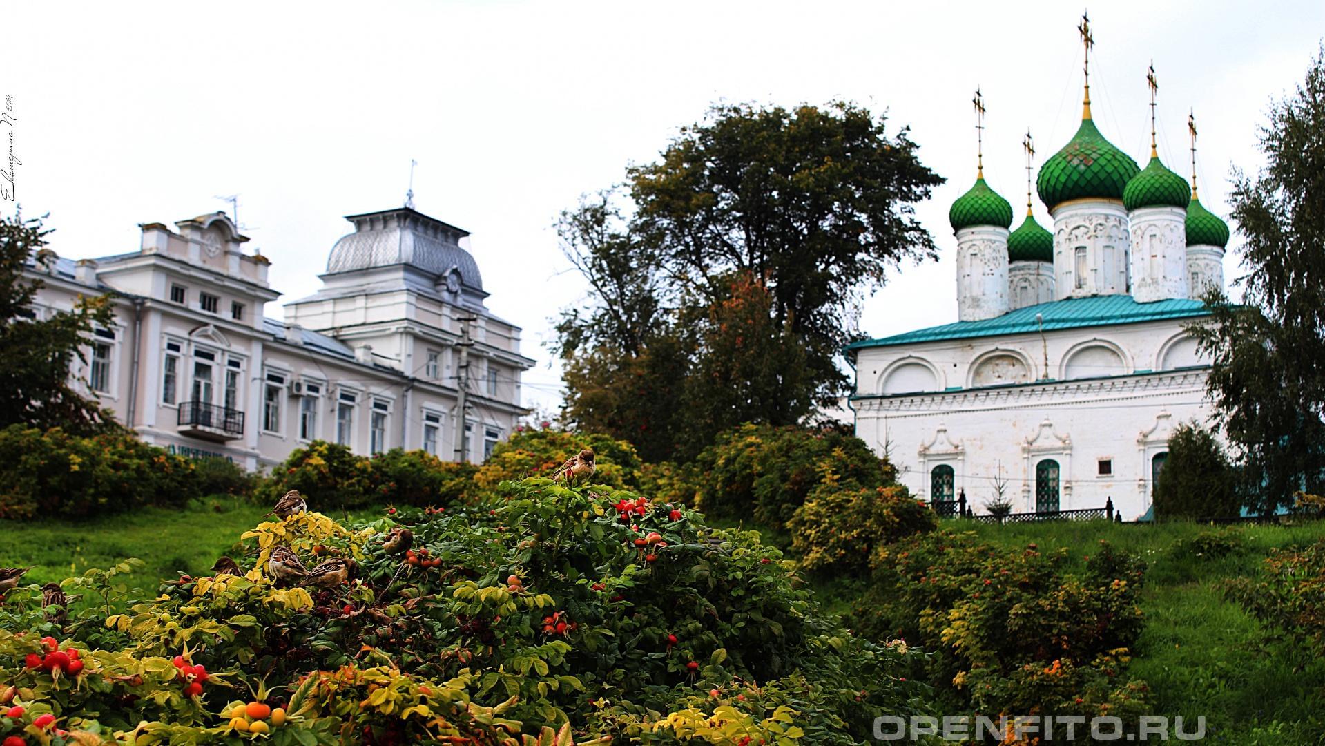 Церковь Михаила Архангела Церковь Михаила Архангела, город Чебоксары, Республика Чувашия