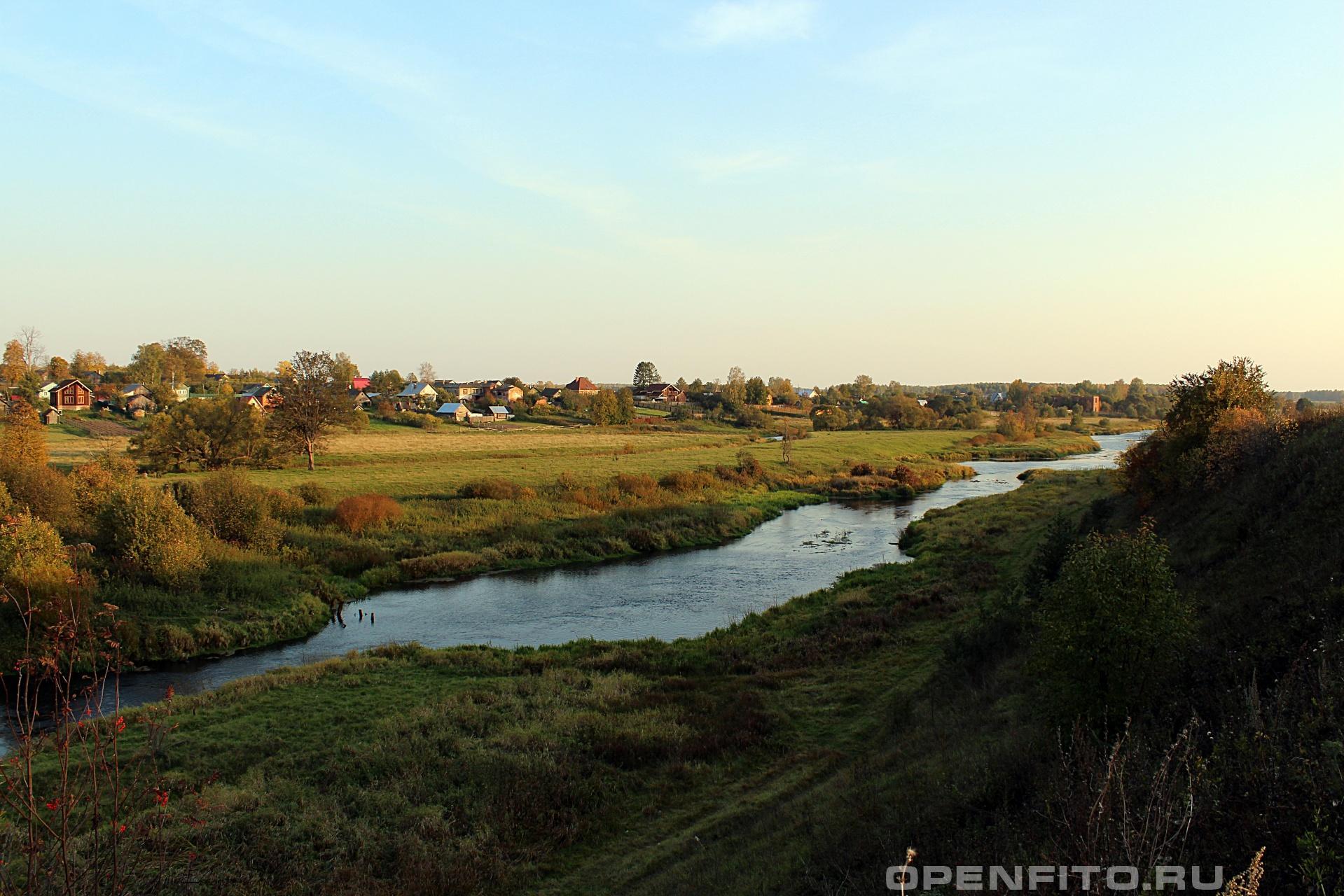 Река село Горицы, Шуйский район, Ивановская область
