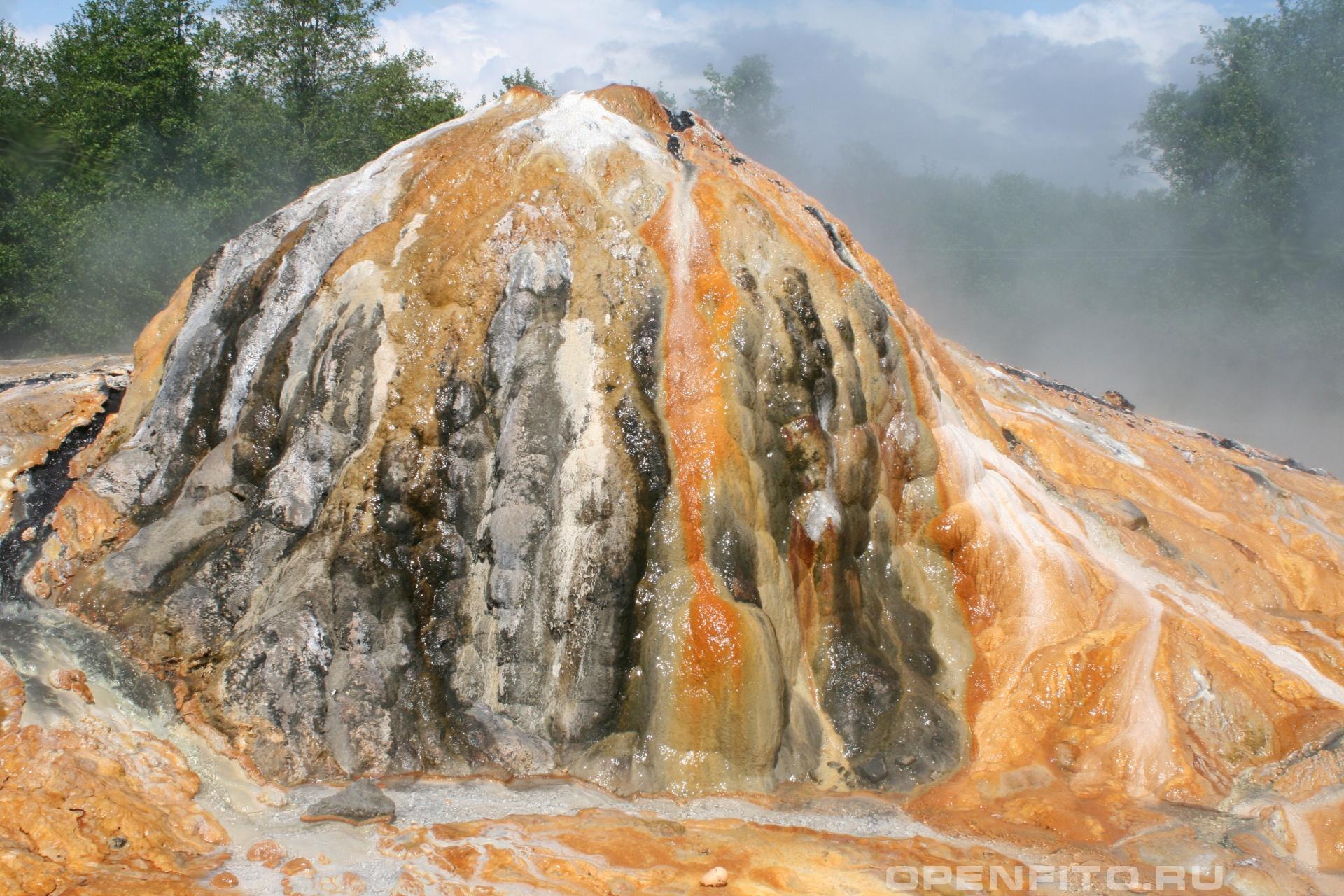 Серный термальный источник Сухумский район, Абхазия