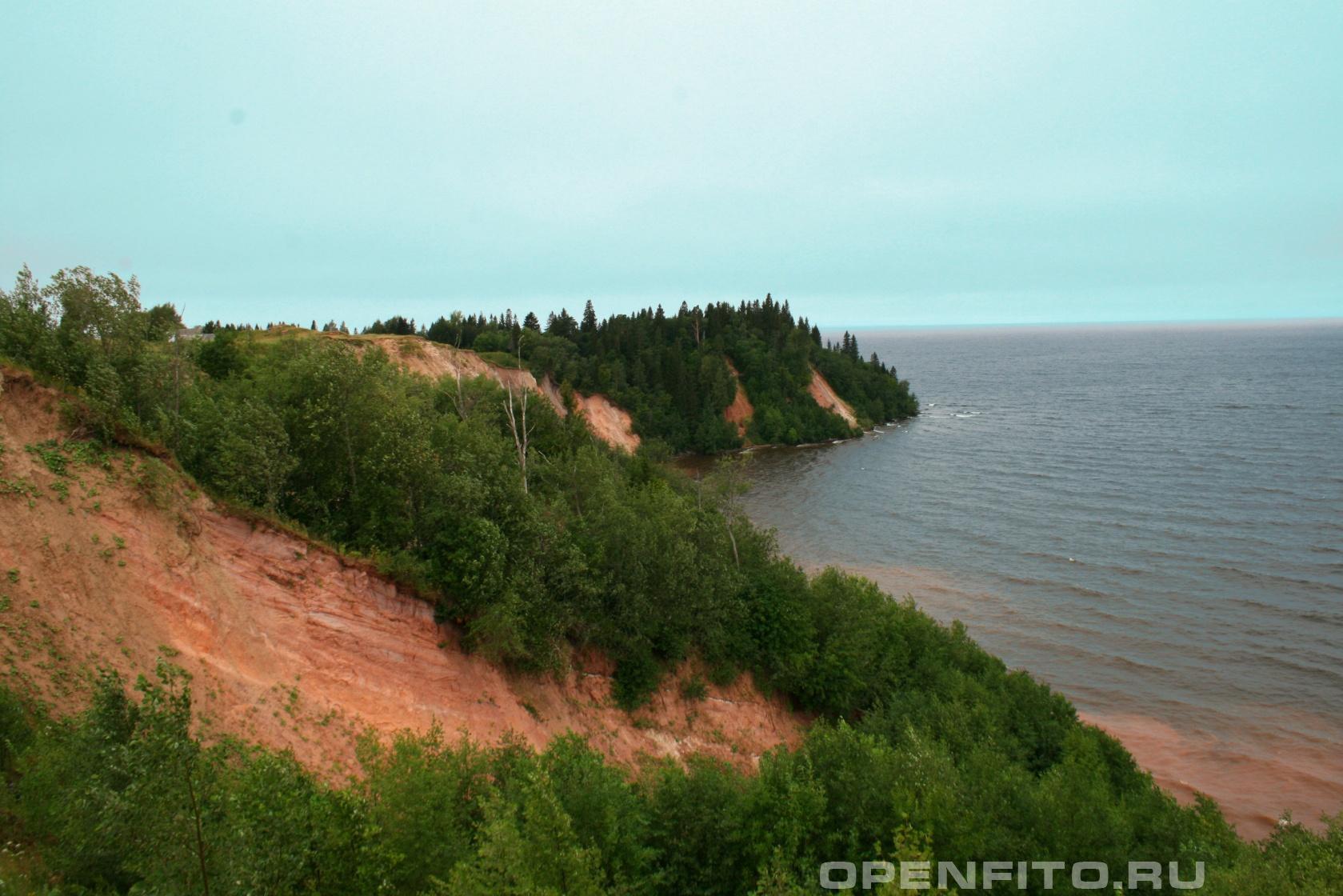 Онежское озеро Берег Онежского озера, Карелия
