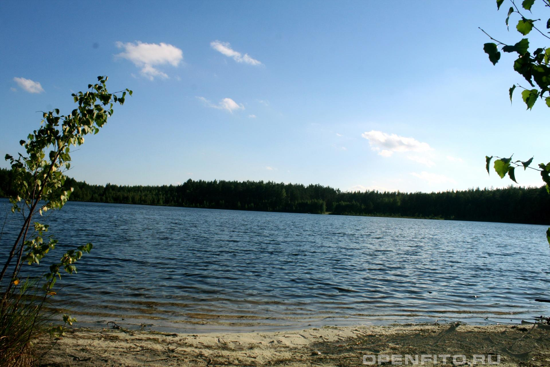 Озеро Западное Южский район