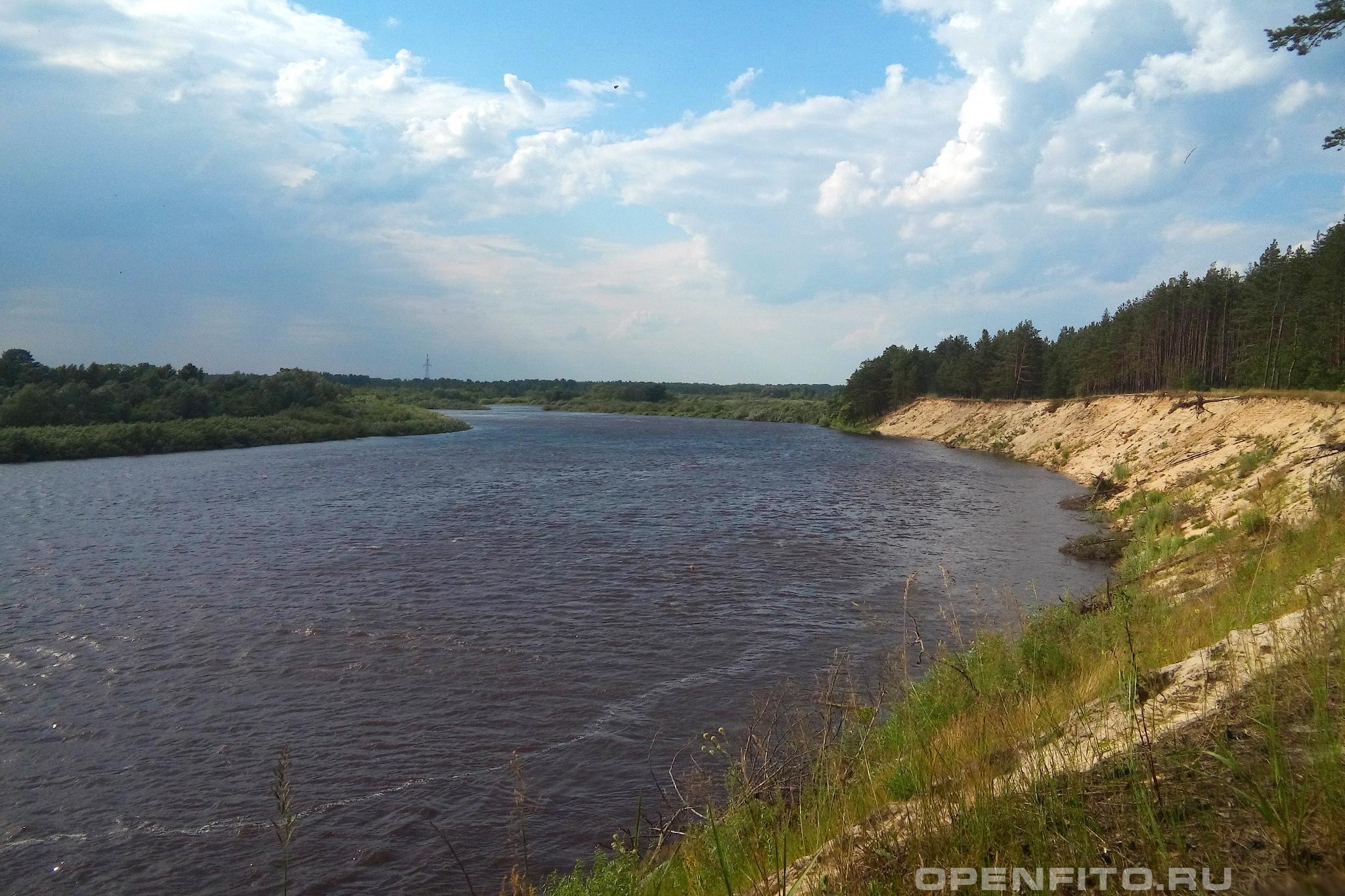 Река Клязьма север Владимирской области