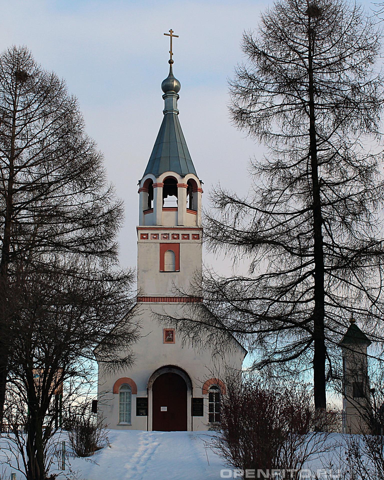 Храм святого Георгия Победоносца Владимирская область, Поклонная гора, храм святого Георгия Победоносца