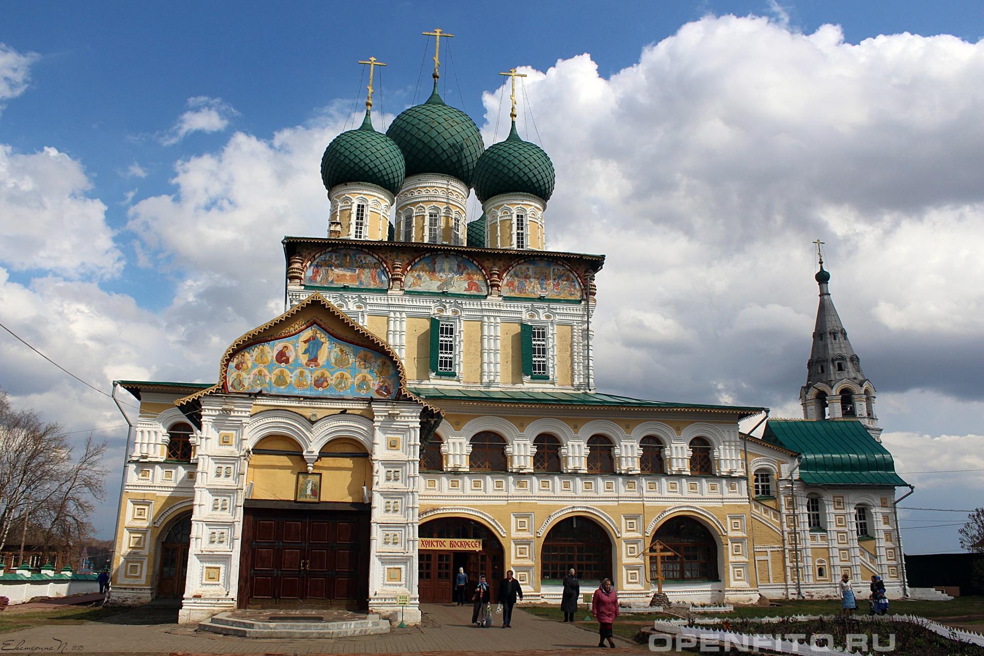Воскресенский собор Ярославская область, г.Тутаев