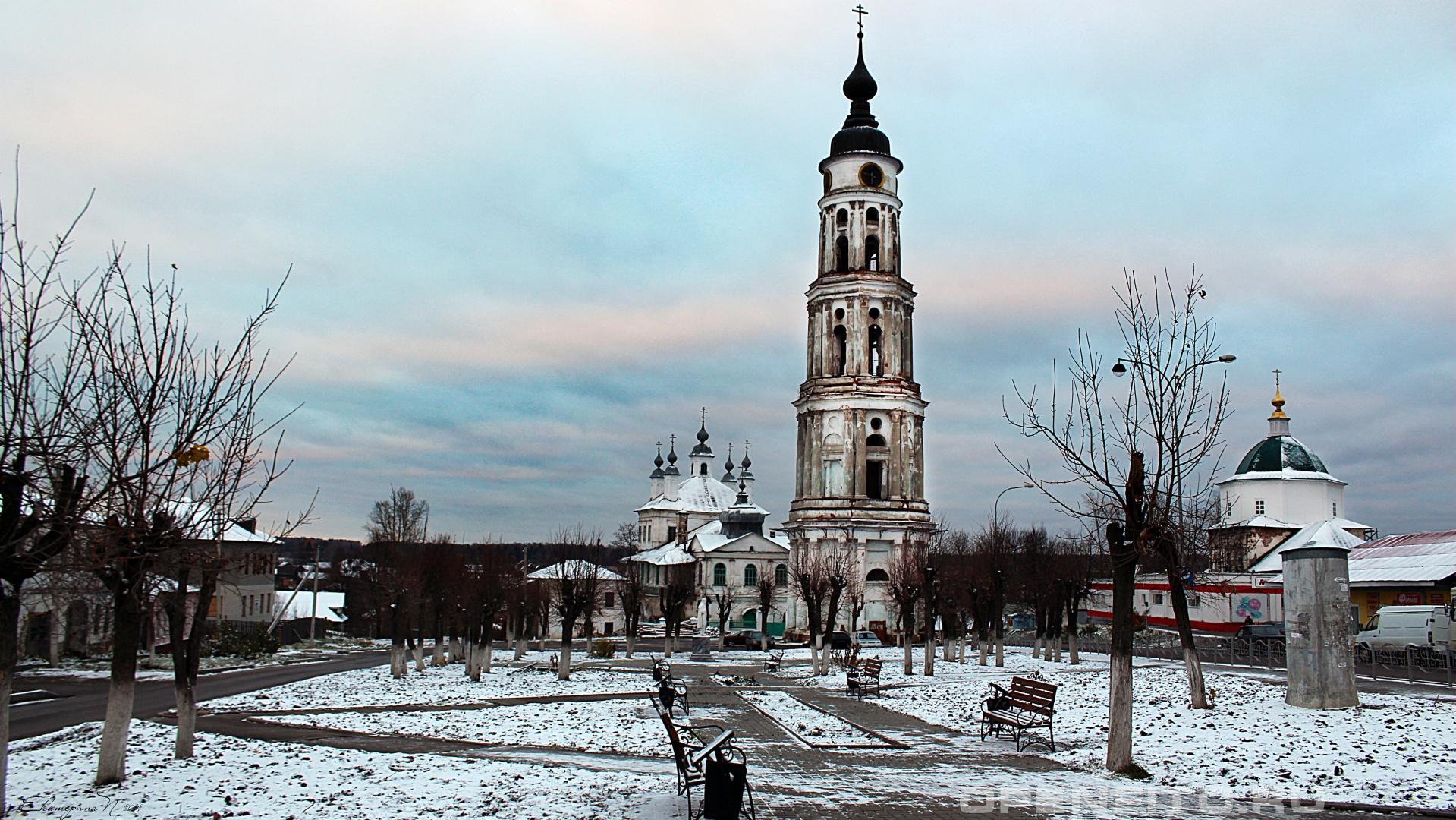 Церковь Троицы Живоначальной Ивановская область, Лежневский район, п. Лежнево