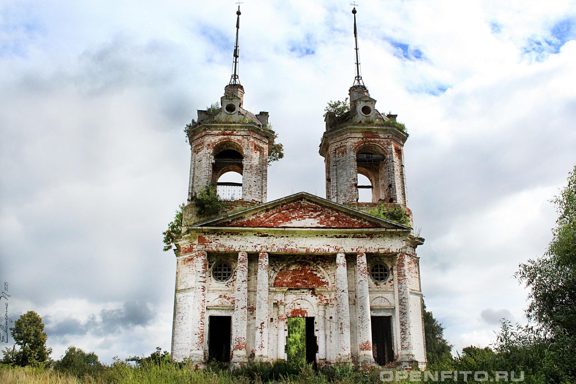 Церковь Покрова Пресвятой Богородицы Ивановская область, Фурмановский район, село Погост