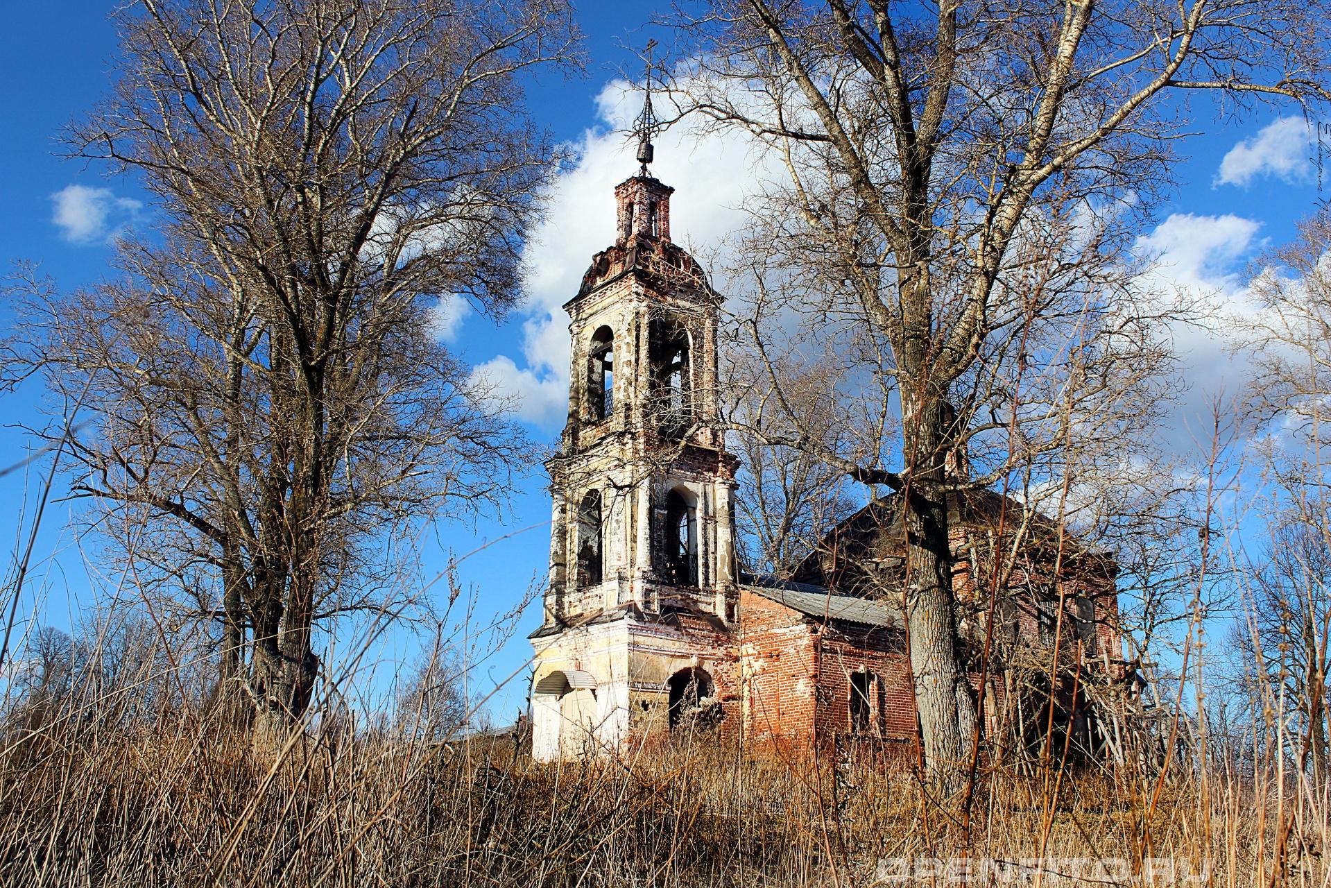 Церковь Покрова Пресвятой Богородицы Ивановская область, село Кочнево