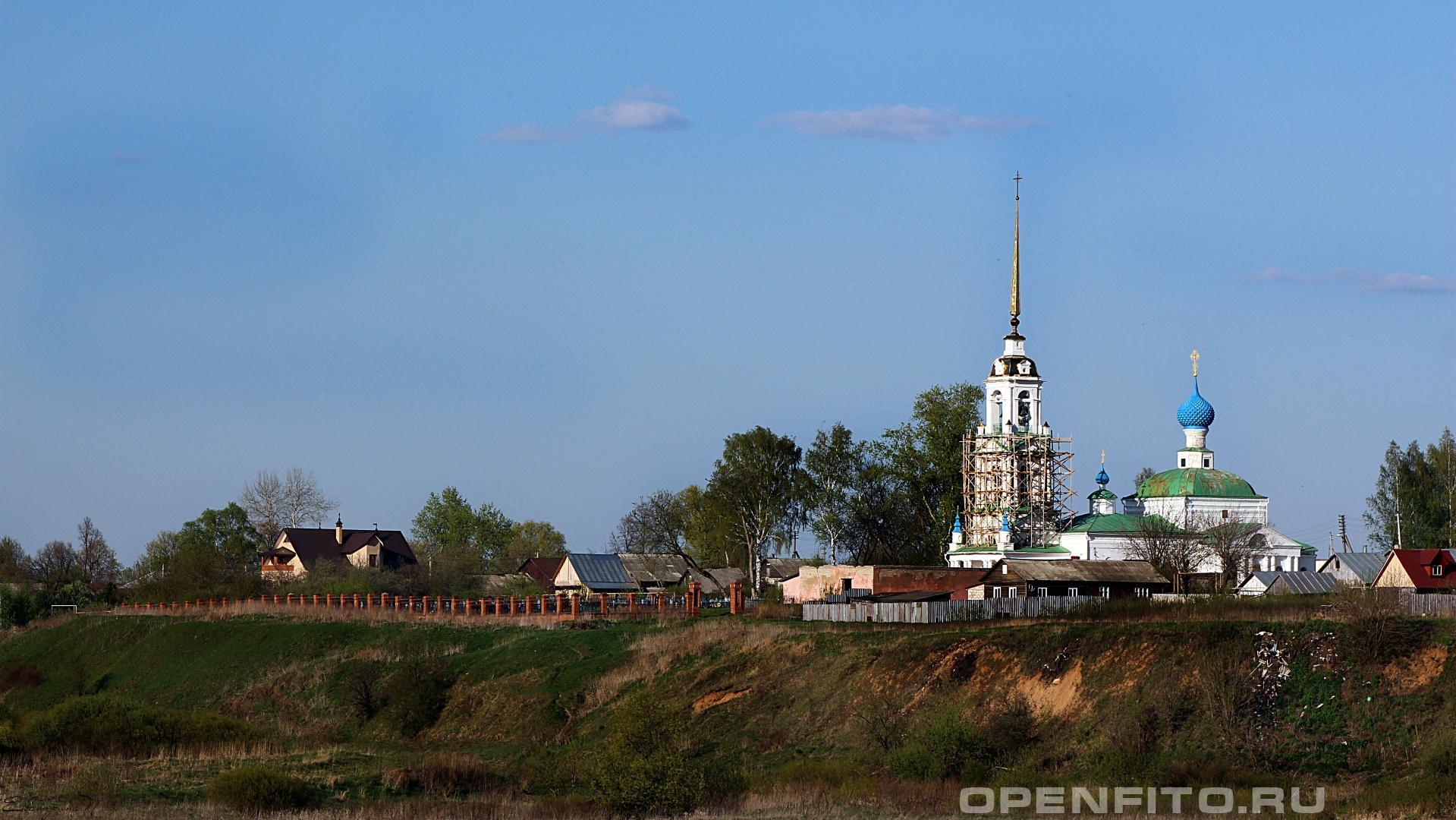 Церковь Усекновения главы Иоанна Предтечи Ивановская область. село Кибергино.