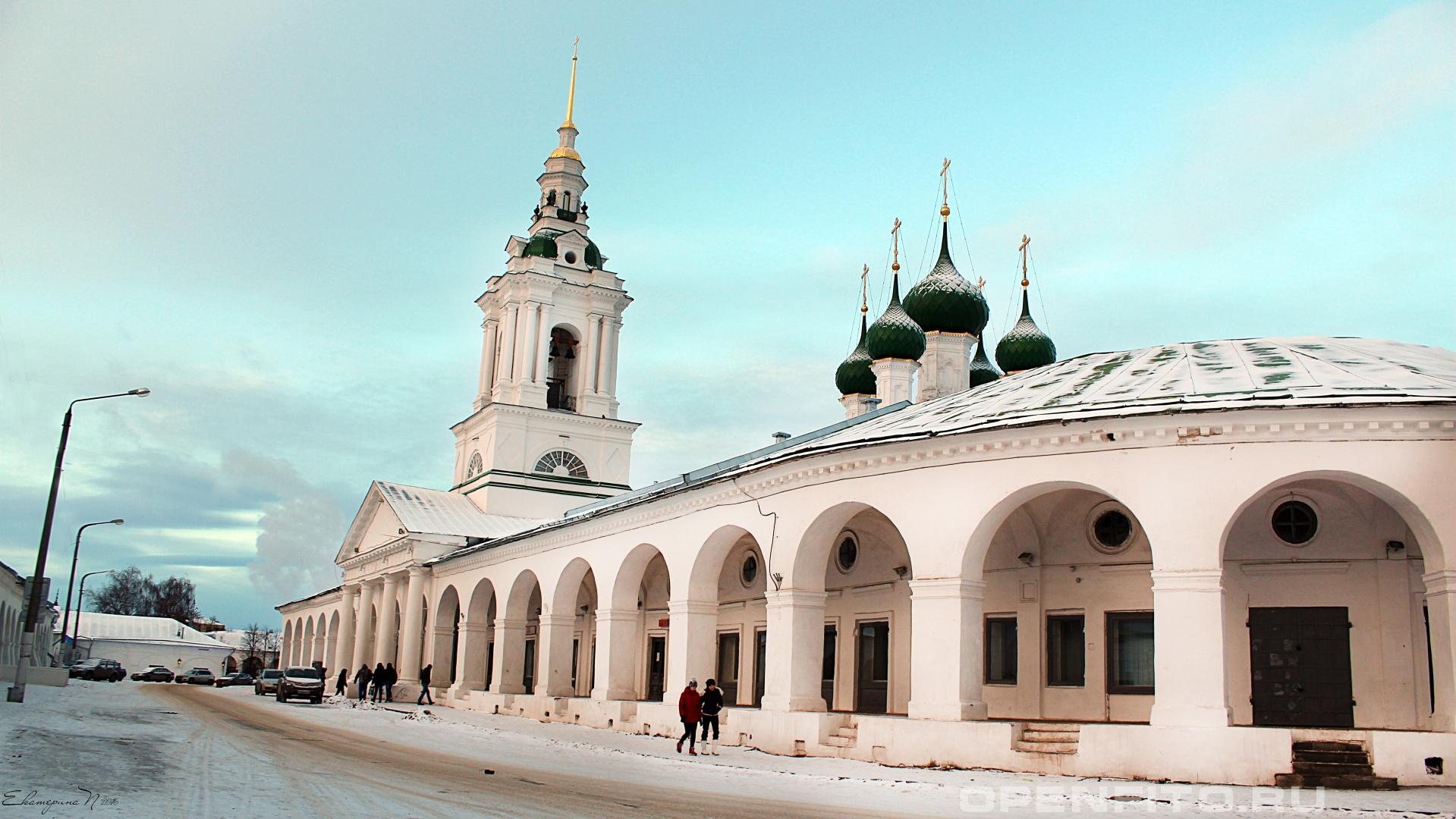 Церковь Спаса в Рядах Церковь Спаса в Рядах, город Кострома, Костромская область