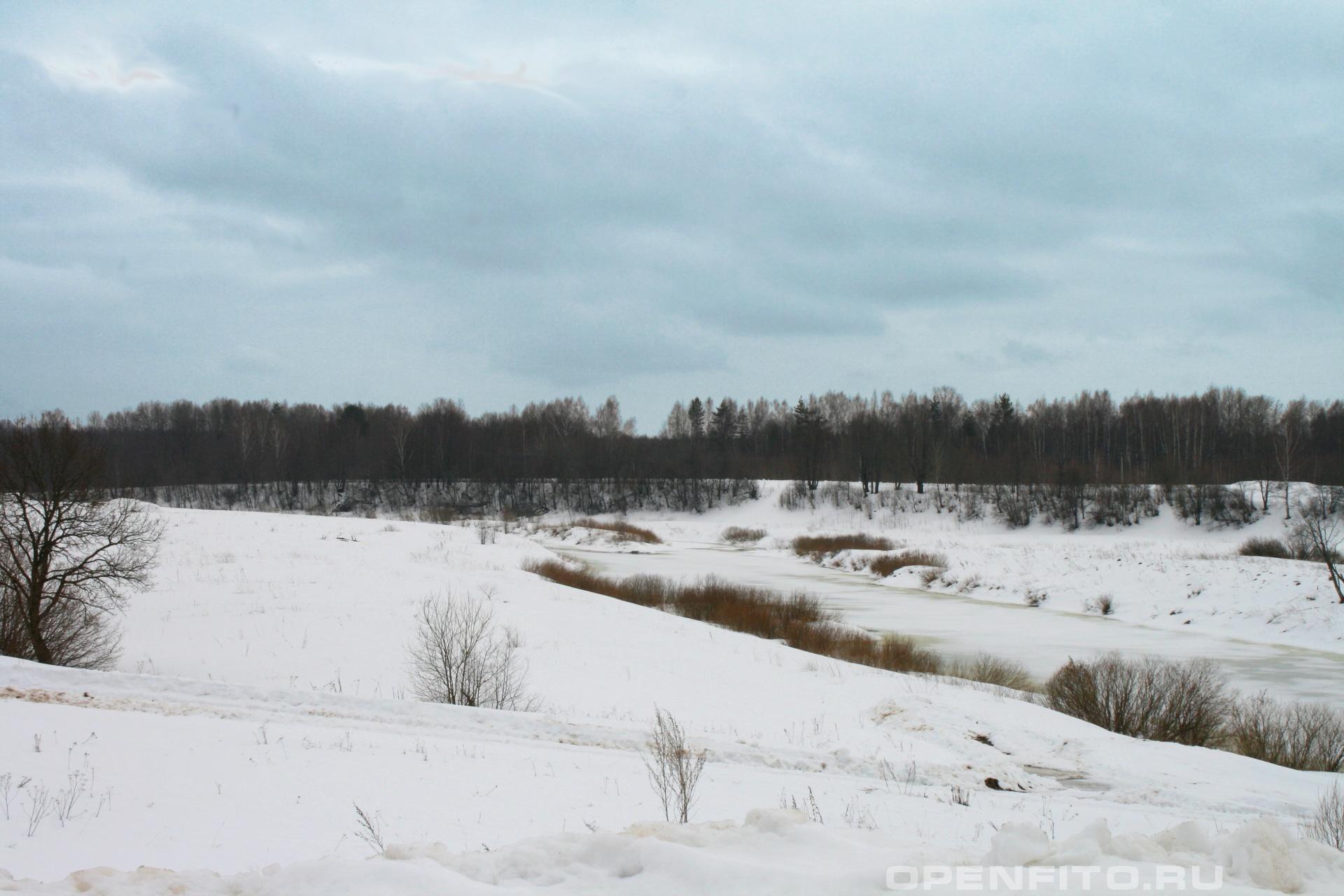 Река Нерль Ильинский район Ивановской области