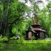 фото Деревянная церковь