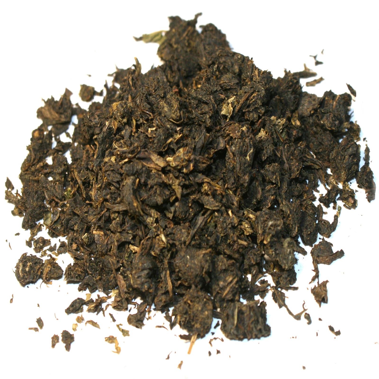 Приготовленный в домашних условиях копорский чай