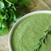 Суп из трав с розмарином